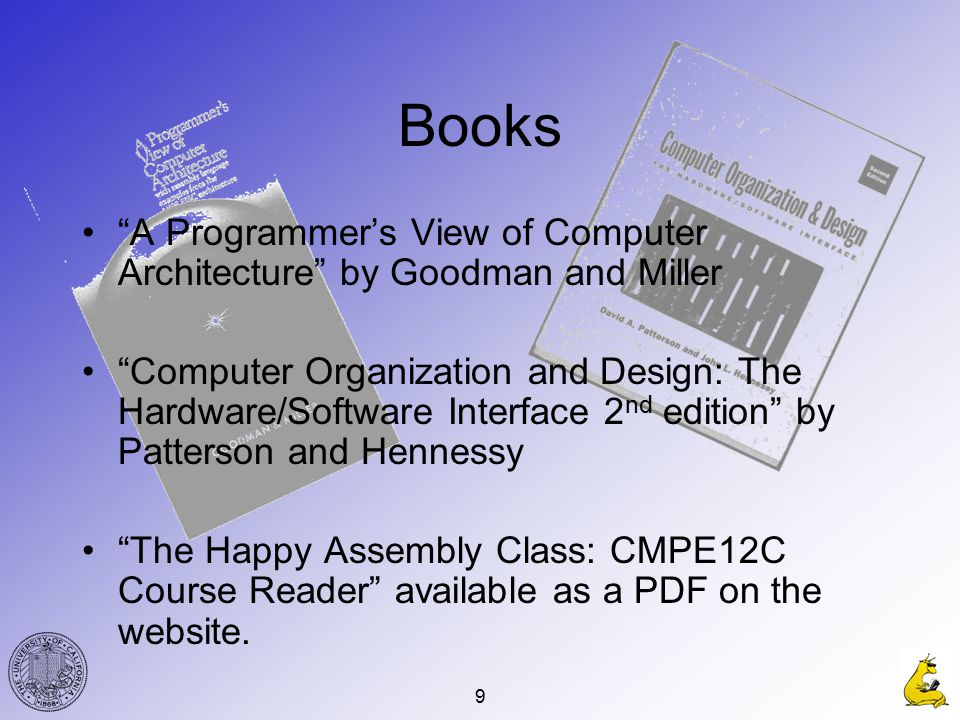 1 Welcome To Cmpe 12c An Introduction To Computer Organization Or What Is Inside My Case And How Does It Work Winter 2004 Gabriel Hugh Elkaim Ppt Download