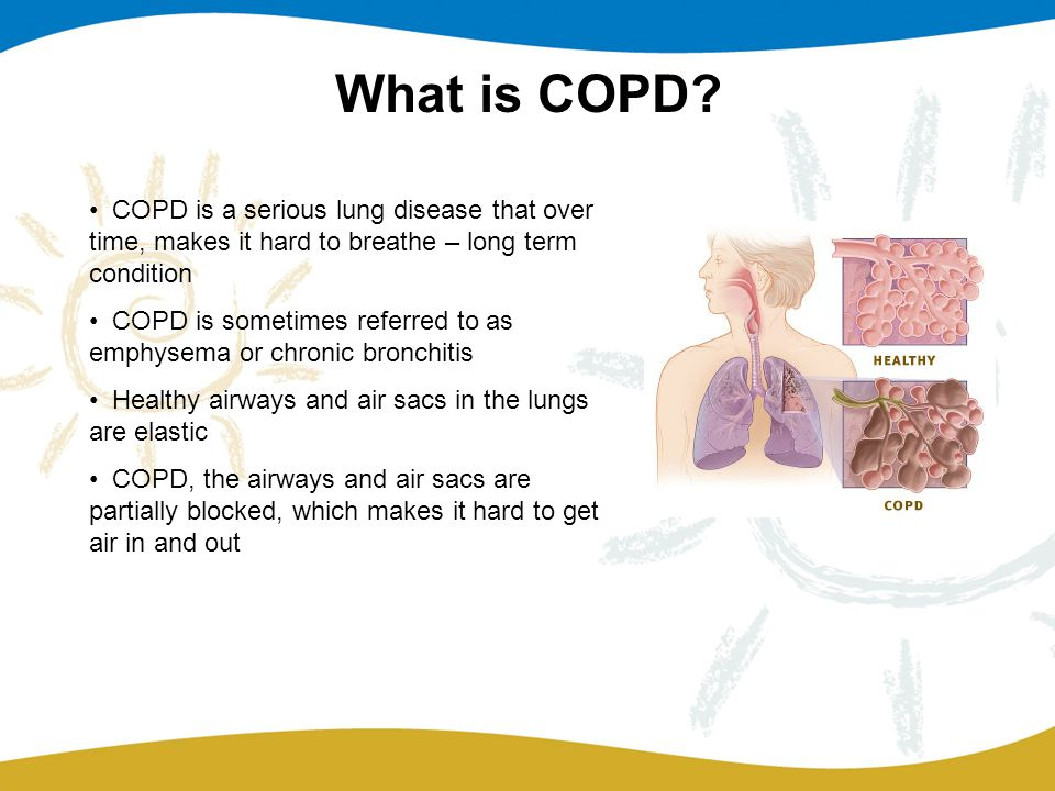What is COPD.