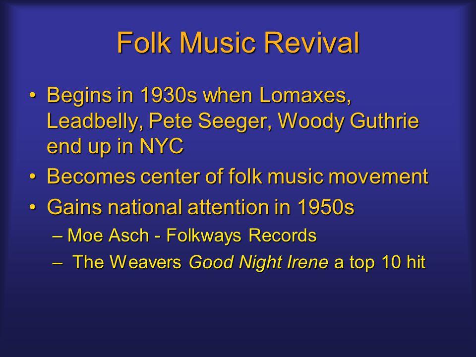 Lyric lyrics to wildwood flower : Folk Rock. Folk Music Revival Begins in 1930s when Lomaxes ...
