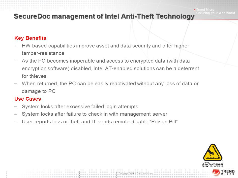 Trend Micro Data-at-Rest Solution SecureDoc Solution