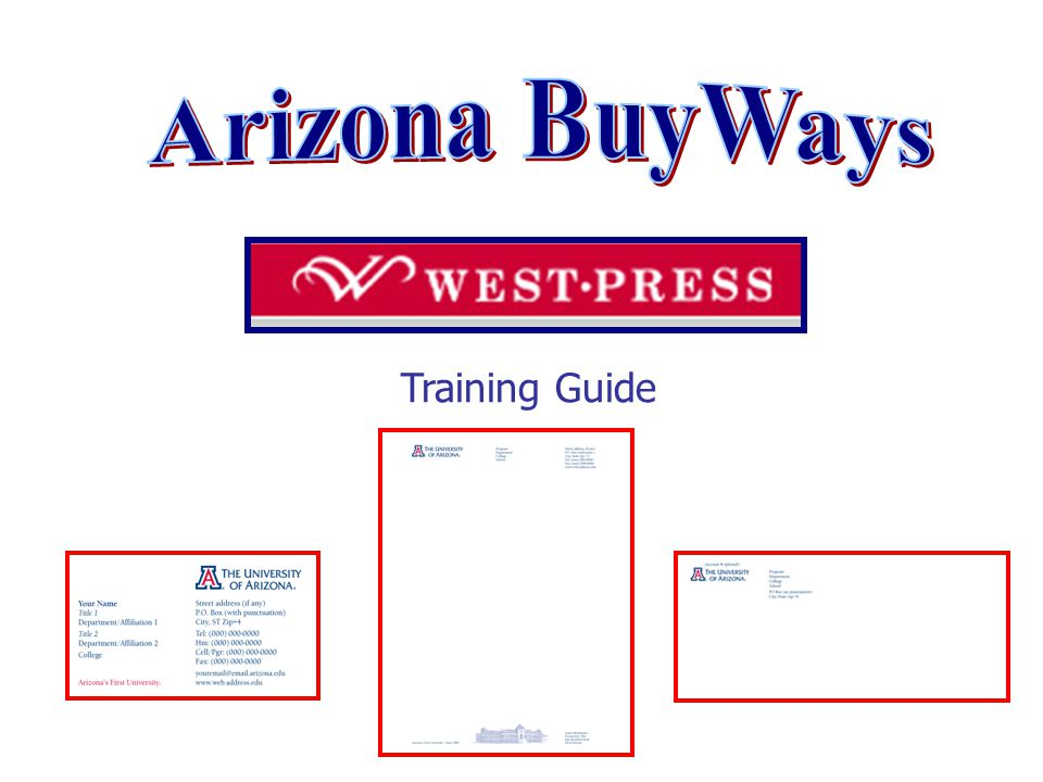Training Guide  The Punch Out Catalog System The Punch Out shopping