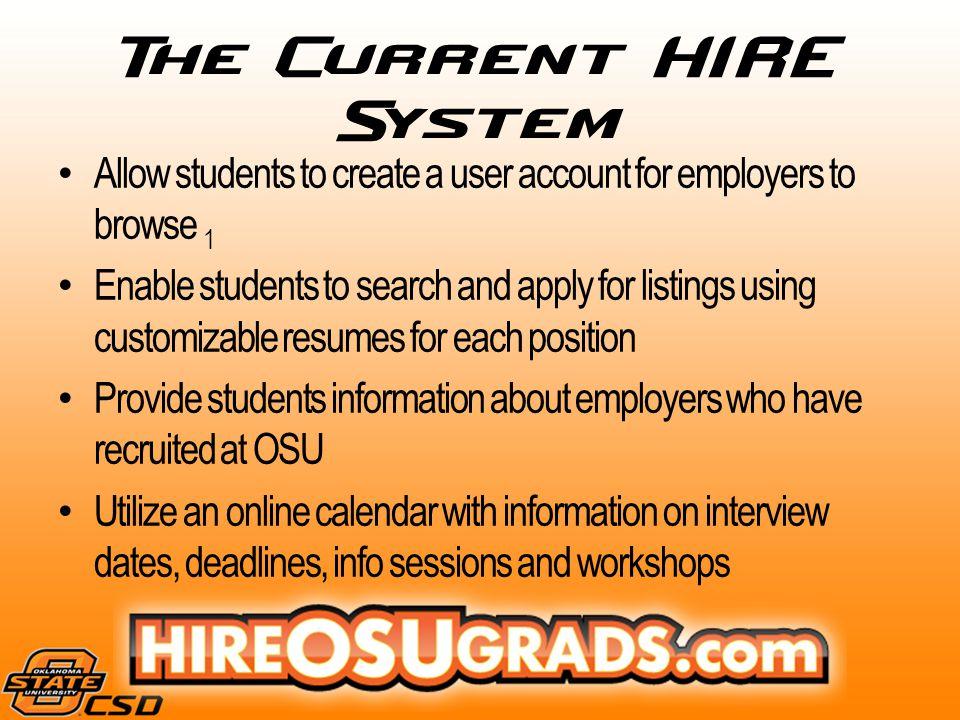 Okstate hire system