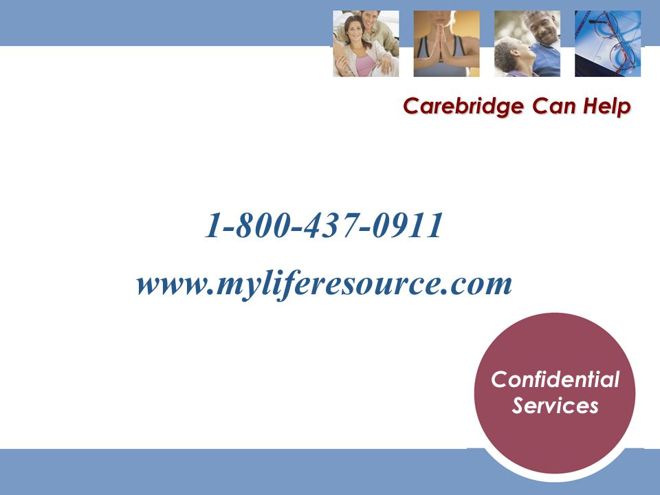 Carebridge Can Help Confidential Services