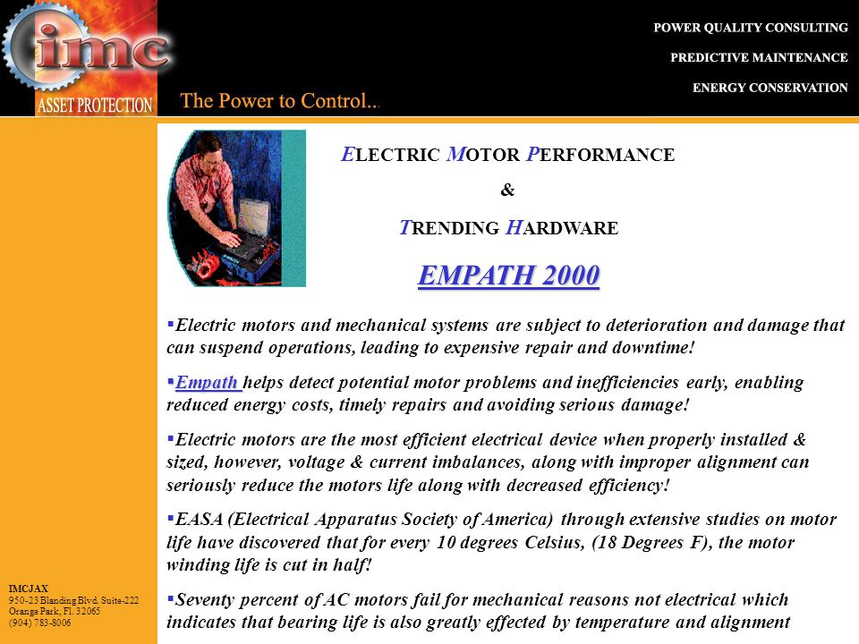 IMCJAX Blanding Blvd  Suite-222 Orange Park, Fl (904) E