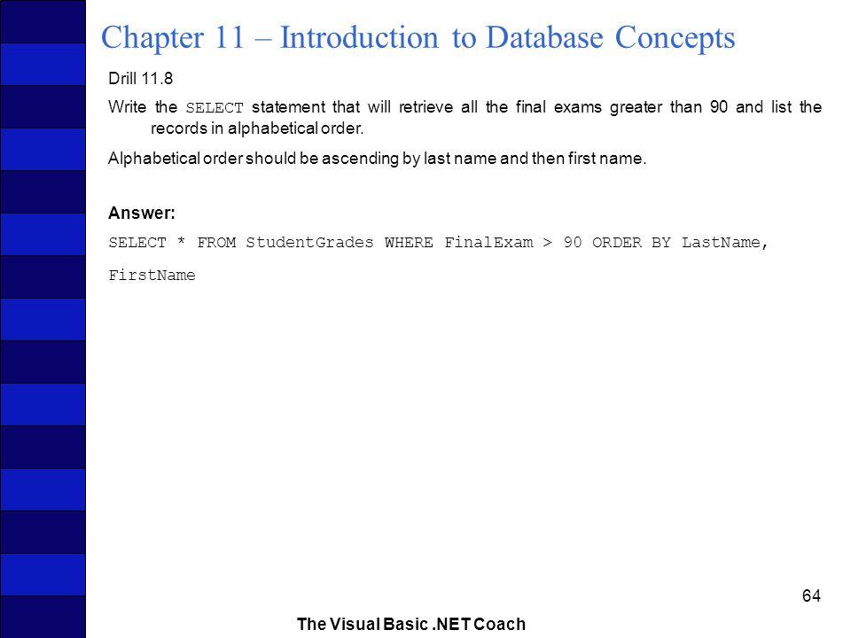 visual basic final exam