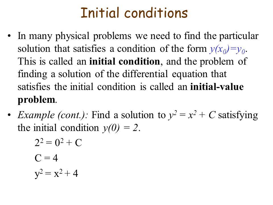 7 6 Differential Equations  Differential Equations