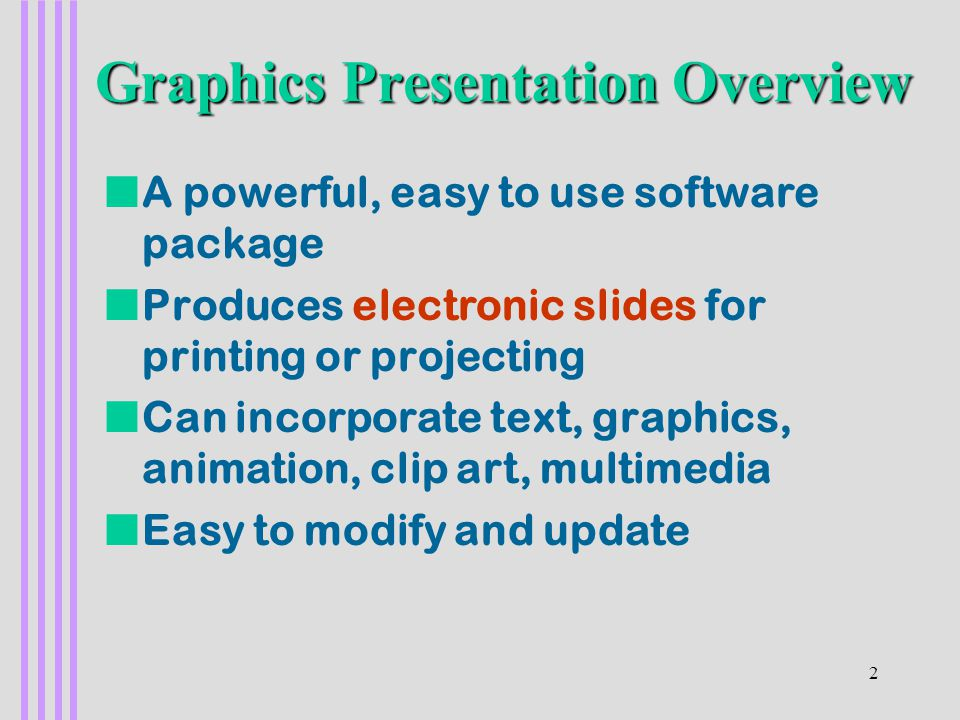 1 1 powerpoint part i 2 na powerful easy to use software package
