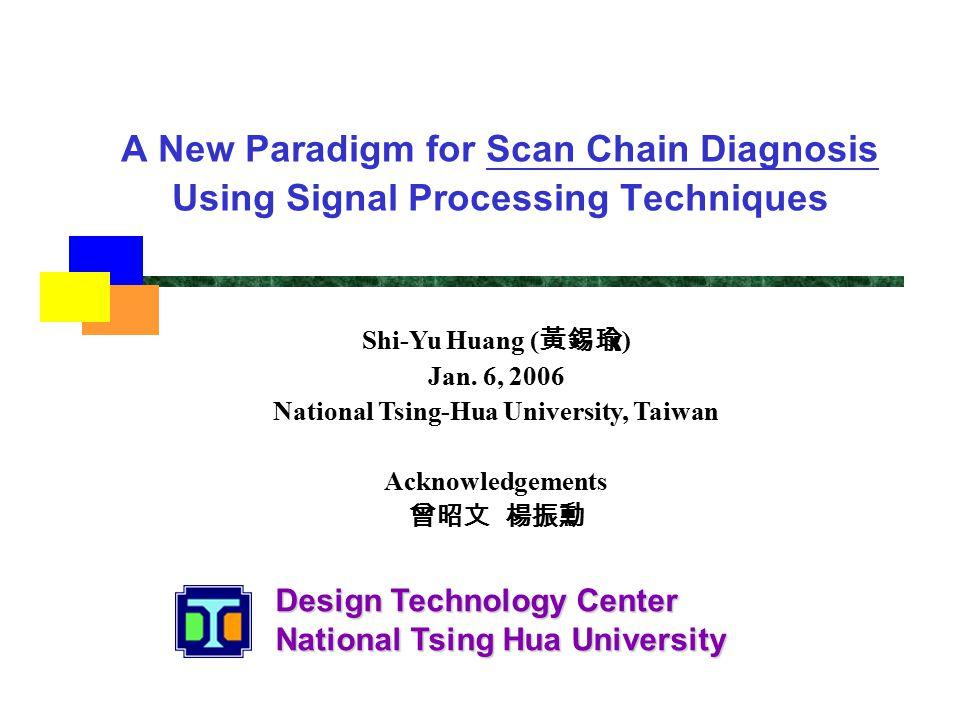 Design Technology Center National Tsing Hua University A New