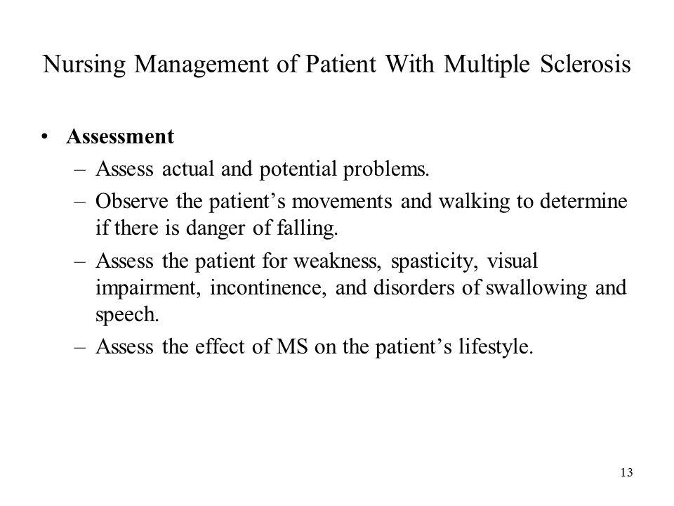 MULTIPLE SCLEROSIS Dr  Belal M  Hijji, RN  PhD February 27