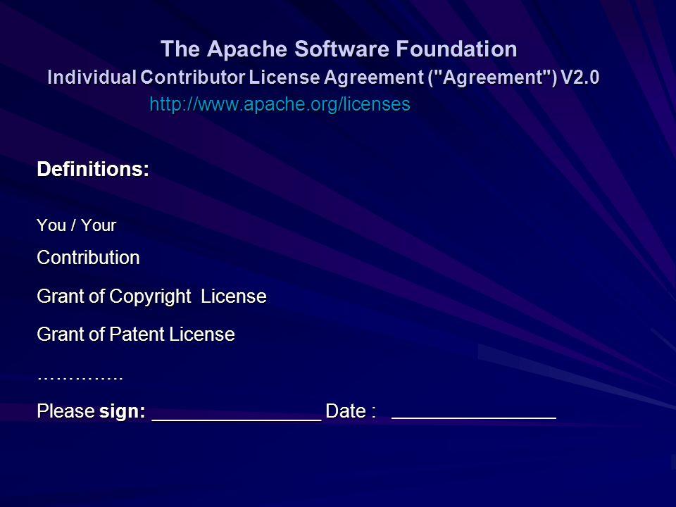 Apache License Version 20 Ppt Download