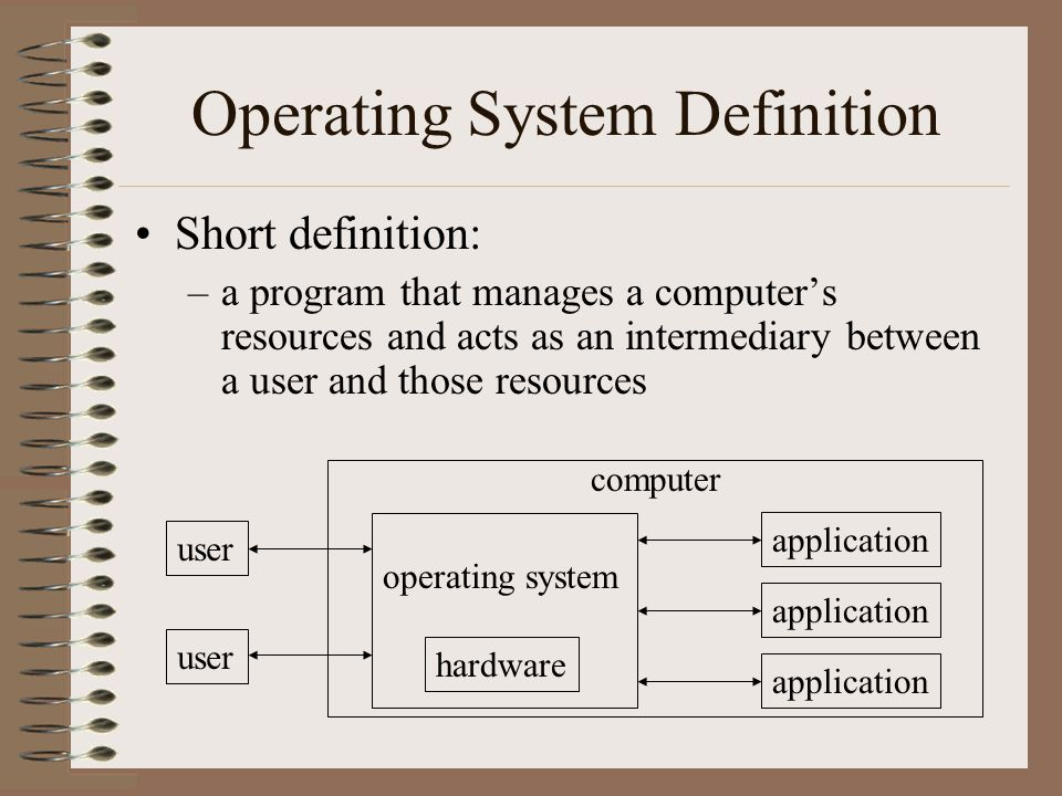 an analysis of computer operating system Software fault tolerance in computer operating systems 3 approach, called orthogonal defect classification, to use observed software defects to provide feedback on the development process was proposed in [chi92.