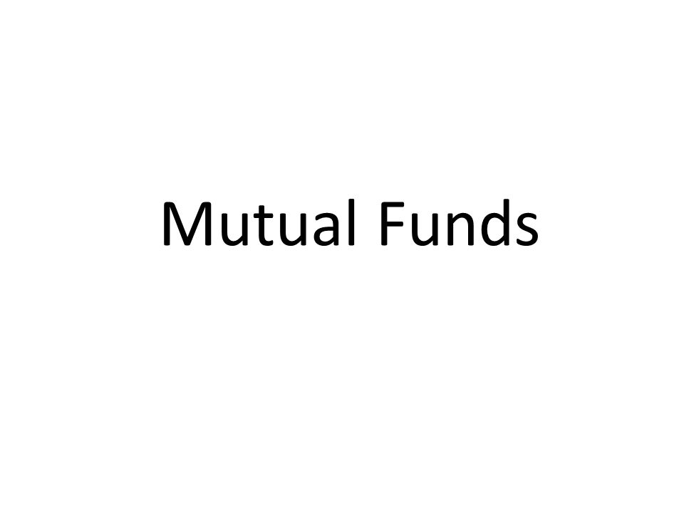 MMutual Funds