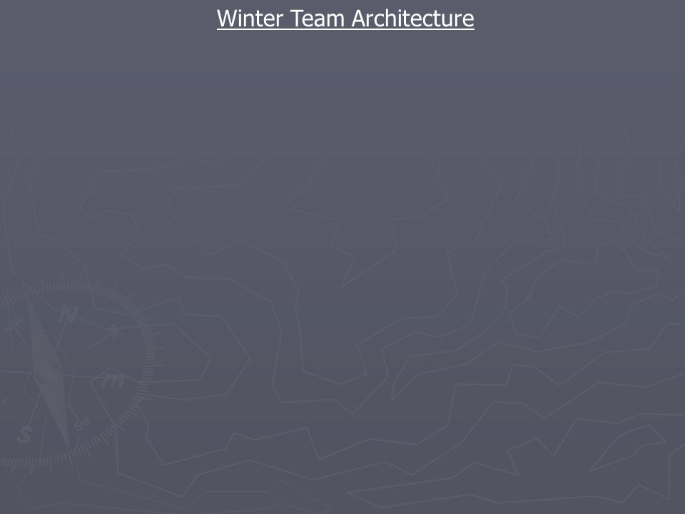 Winter Team Architecture