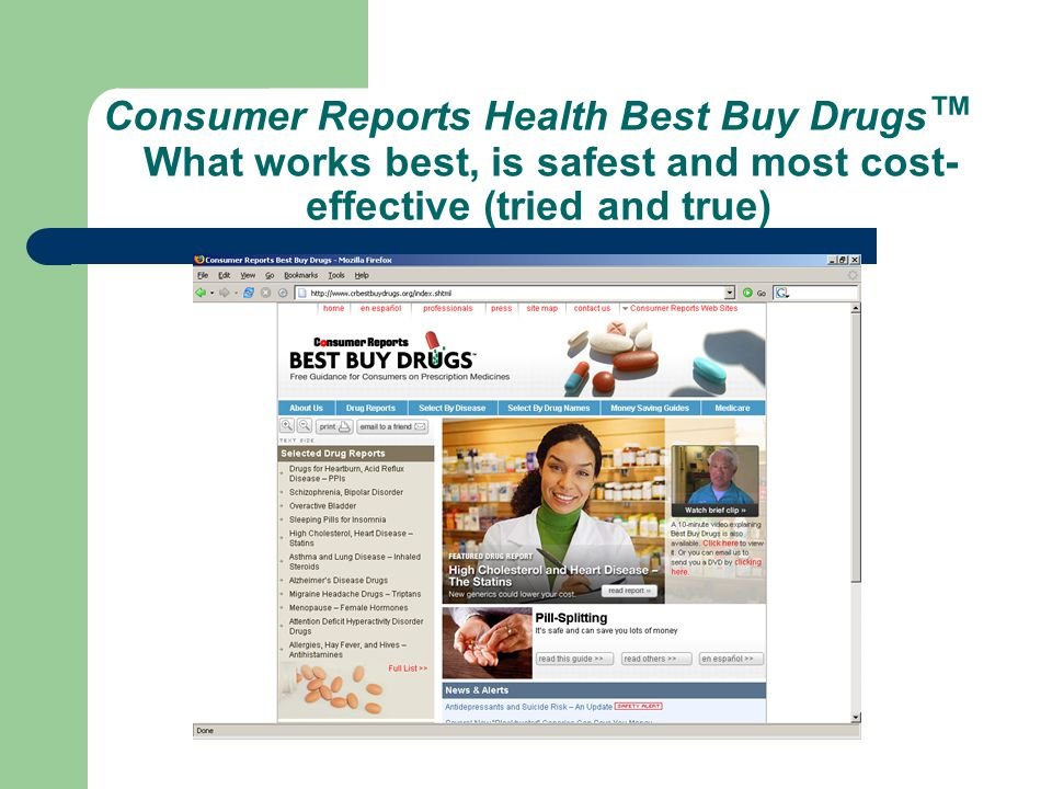 consumer reports the best of health book May 7, 2007 -- volumetrics is the best carefully researched diet plan, and the best life diet is the best diet book, consumer reports says volumetrics is based on the research of penn state.