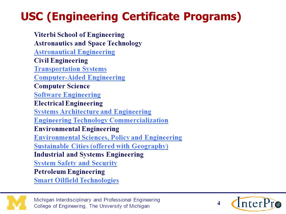 1 Michigan Interdisciplinary and Professional Engineering College of ...