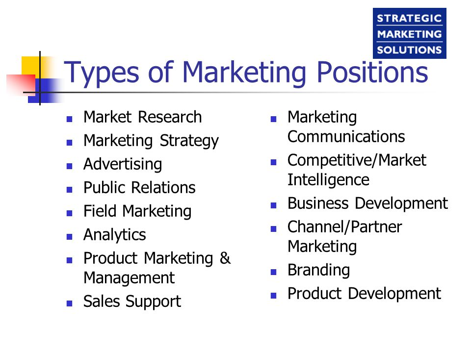 main types of market research Marketing research can be classified as either problem-identification research or as problem-solving research article discusses about major 3 types of he needs to use exploratory market research to gain/discover insights about this situation thus when the goal of the marketer is to precisely.