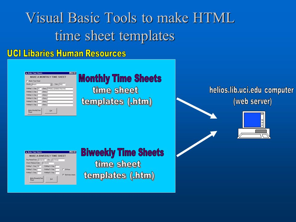 "uci libraries electronic time sheet system ""an almost fully, Uci Presentation Template, Presentation templates"