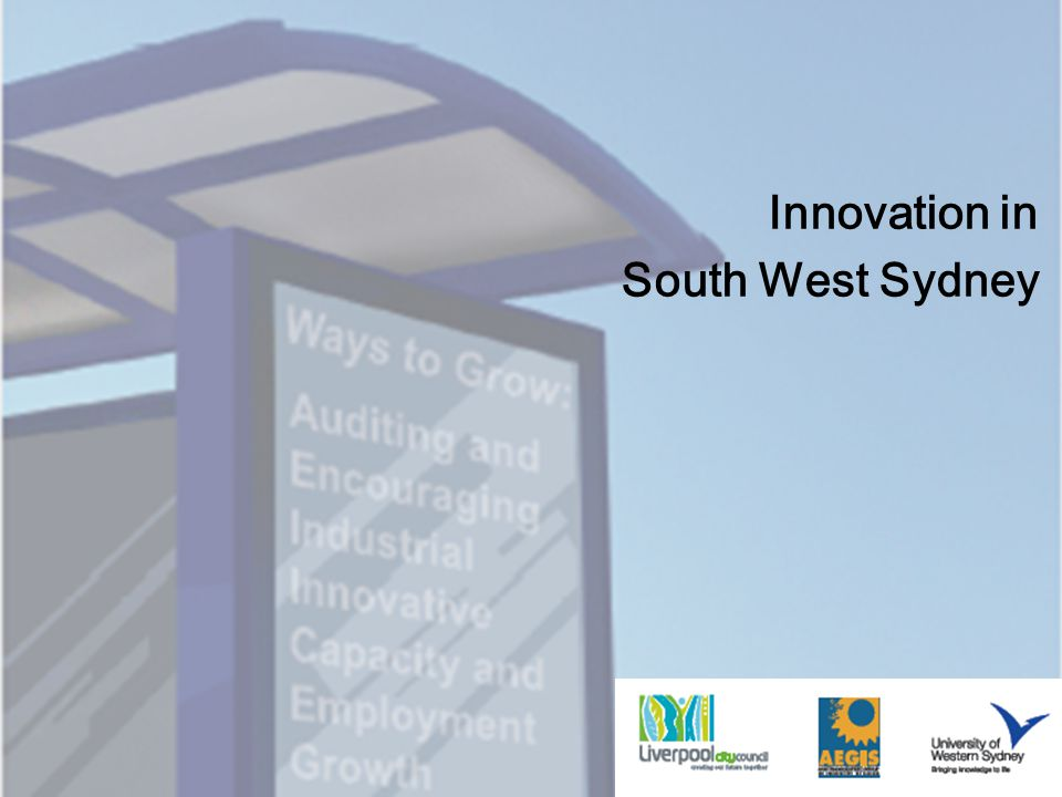 Innovation in South West Sydney