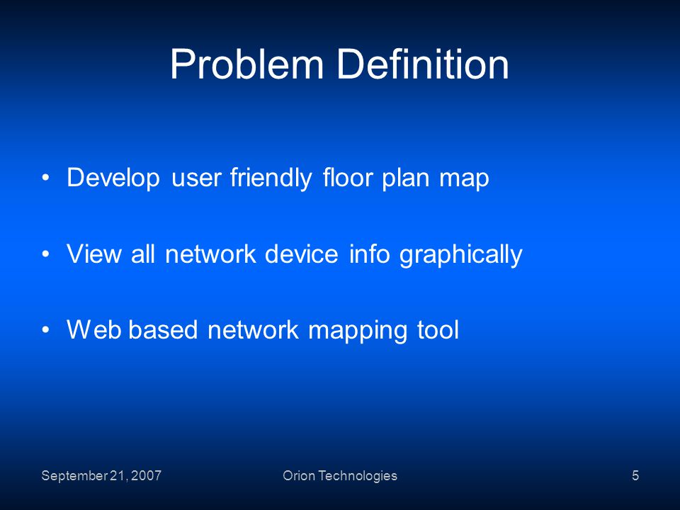 School Of Science Device Networking System Software Plan By Orion - Graphical network mapping tool