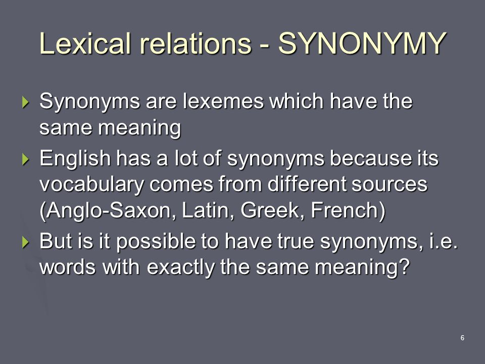 1 Word meaning and equivalence M A  Literary Translation