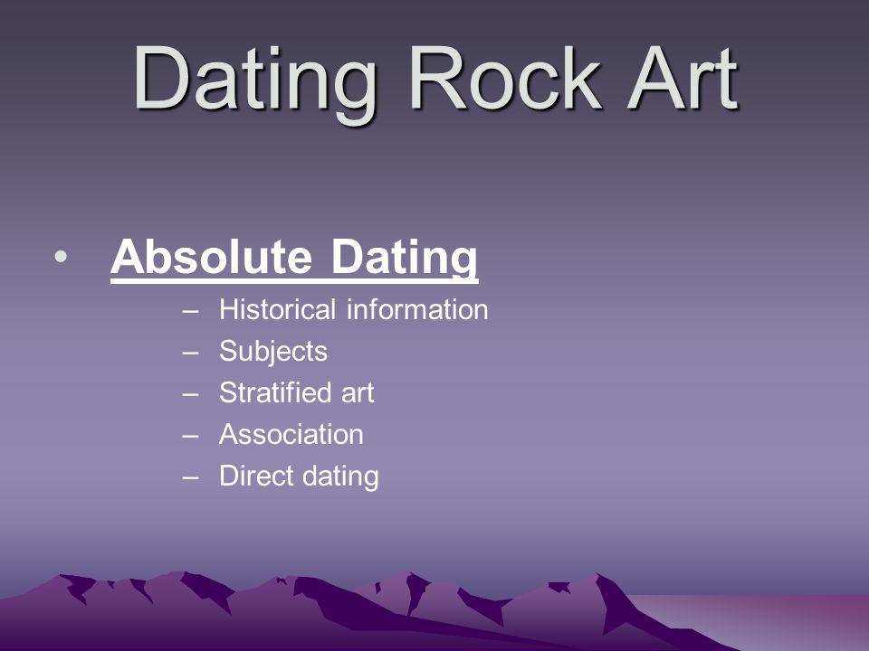 Assoziationsrelativer Dating