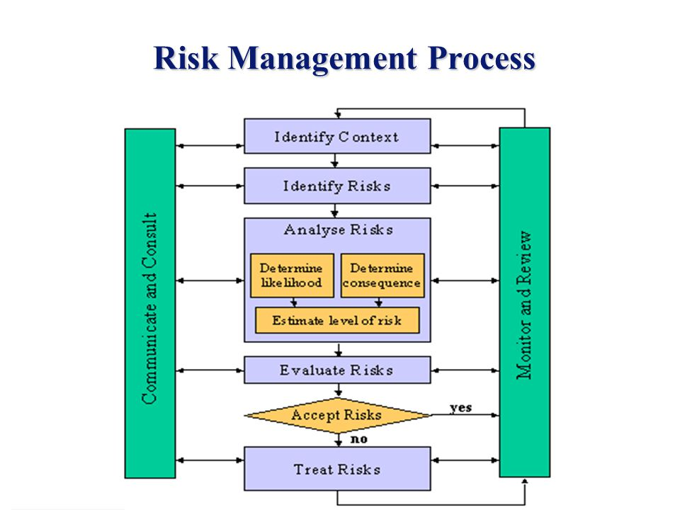 2 Risk Management Process Risk Management Process