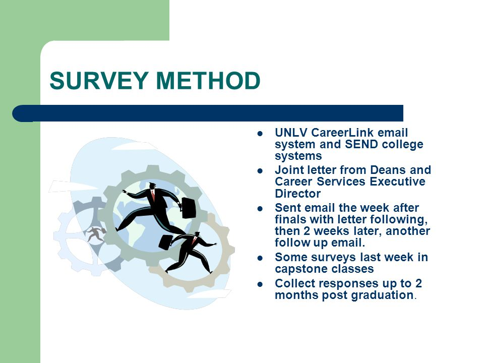 UNLV Career Outcomes Survey UNLV Career Services. - ppt download