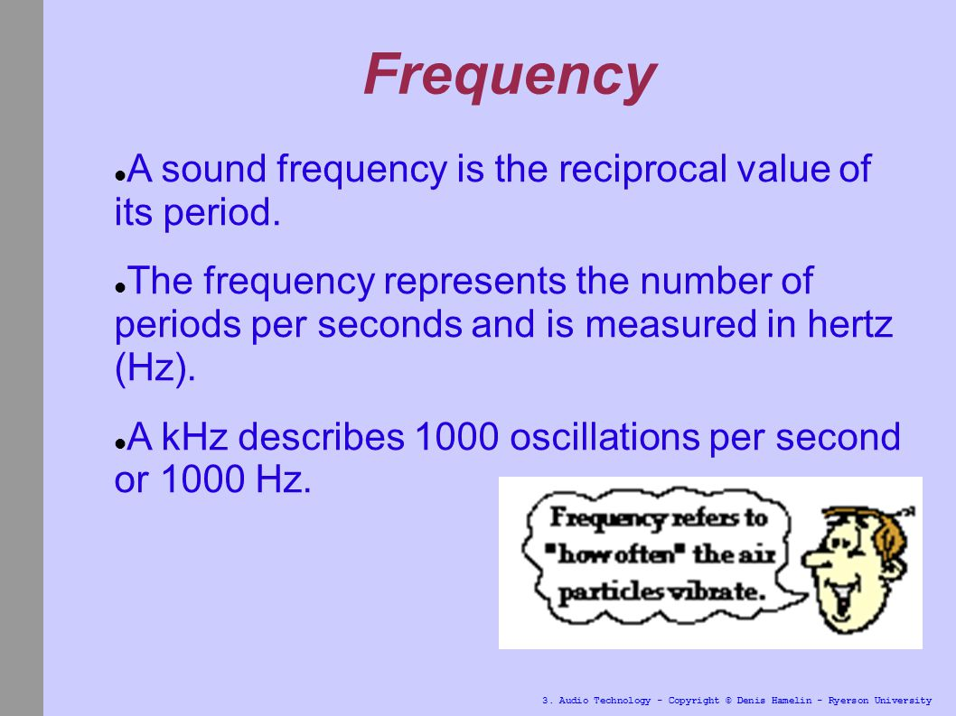 3 Audio Technology Copyright Denis Hamelin Ryerson University Hypersonic Sound 6
