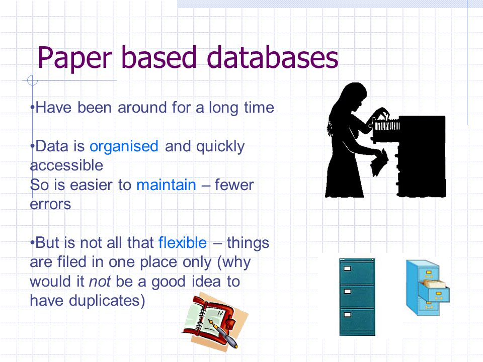 what is a good database