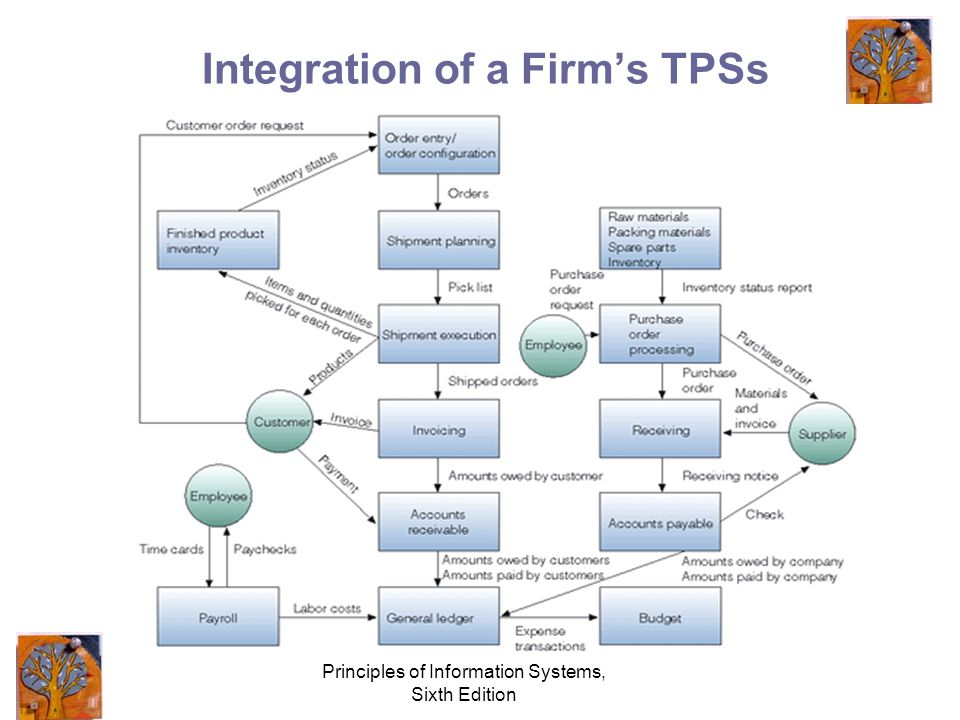 Principles of Information Systems, Sixth Edition Integration of a Firm's TPSs