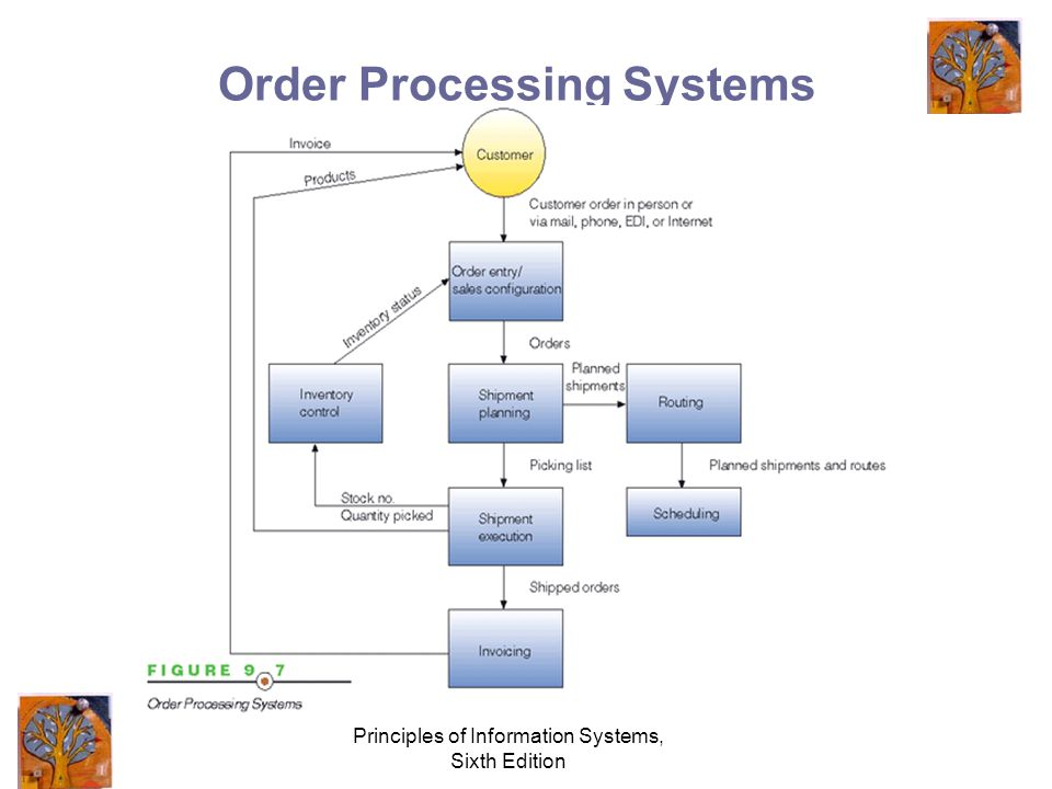 Principles of Information Systems, Sixth Edition Order Processing Systems