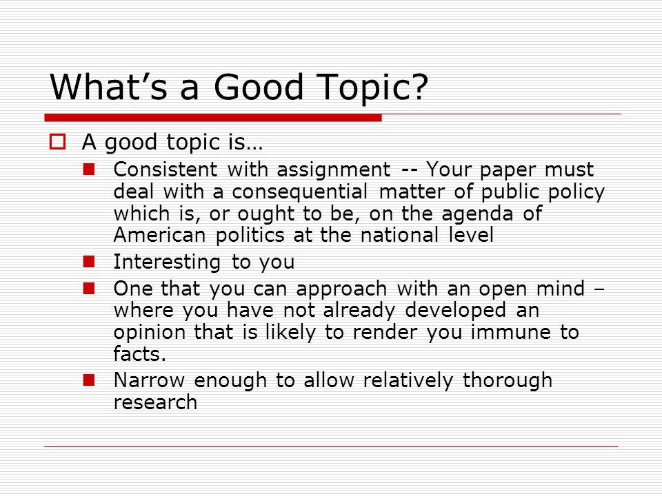 Free Essay On Public Policy  Mistyhamel Public Policy Essay Topics