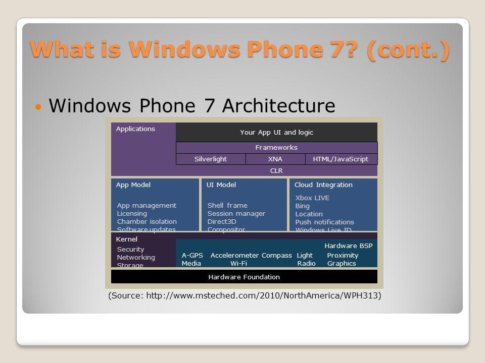 Android vs iOS vs Windows Phone 7 Alejandro Mesa (am3473