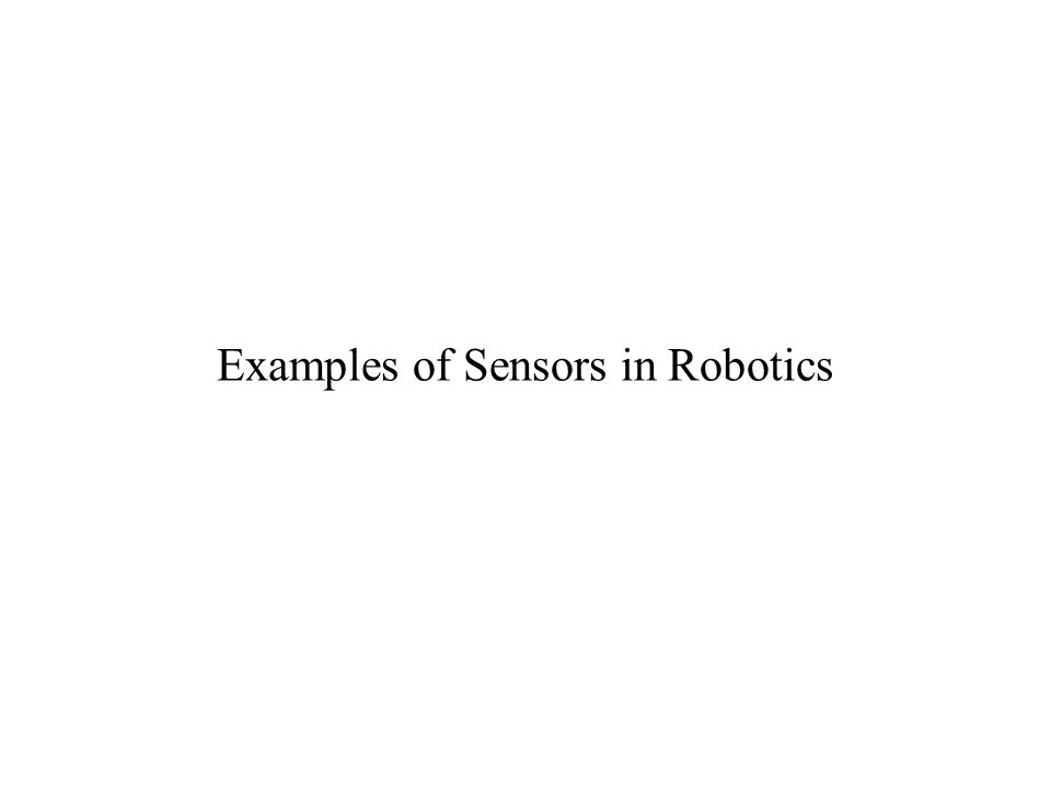 Examples of Sensors in Robotics  Smart Irrigation System  - ppt download