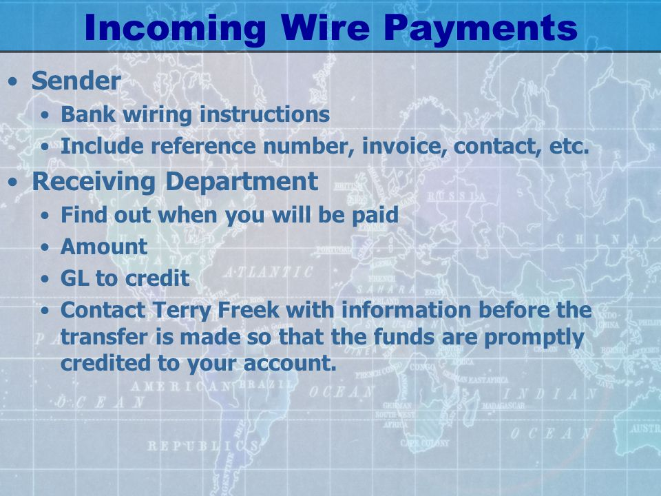 wire transfers and foreign exchange 101 fast track ppt download rh slideplayer com