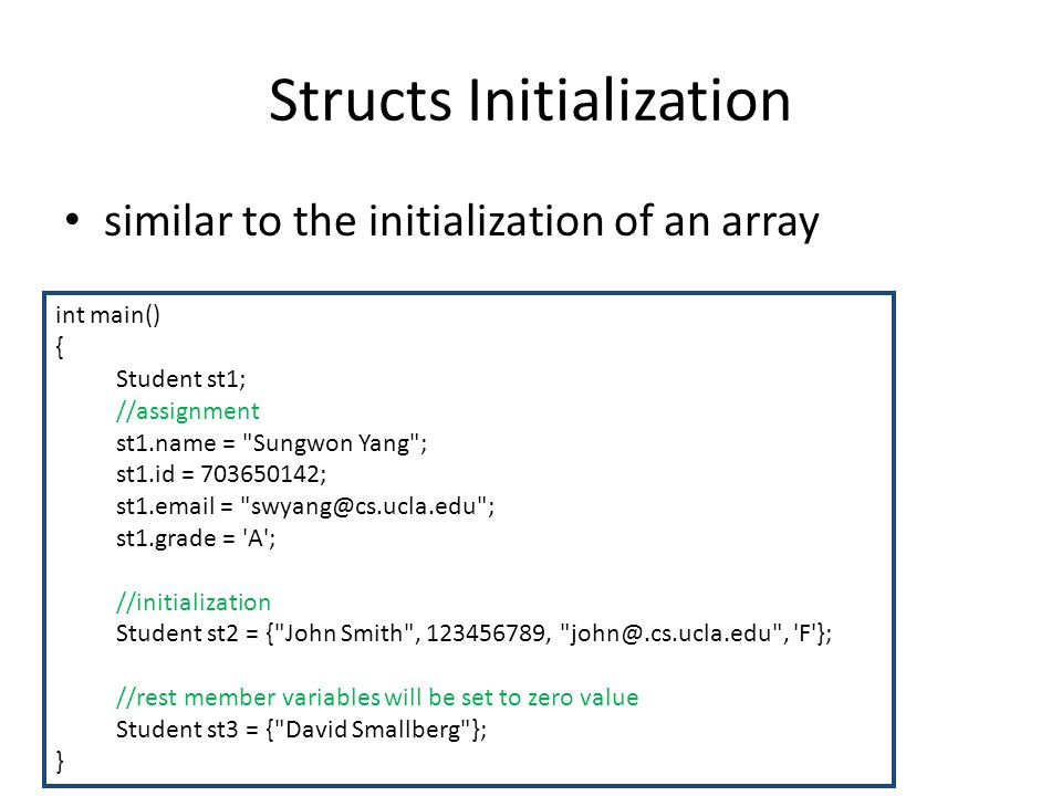 CS31: Introduction to Computer Science I Discussion 1A 5/28/2010