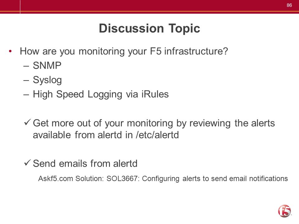 1 F5 Users Group September 15 th 2010 Agenda Intro & welcome