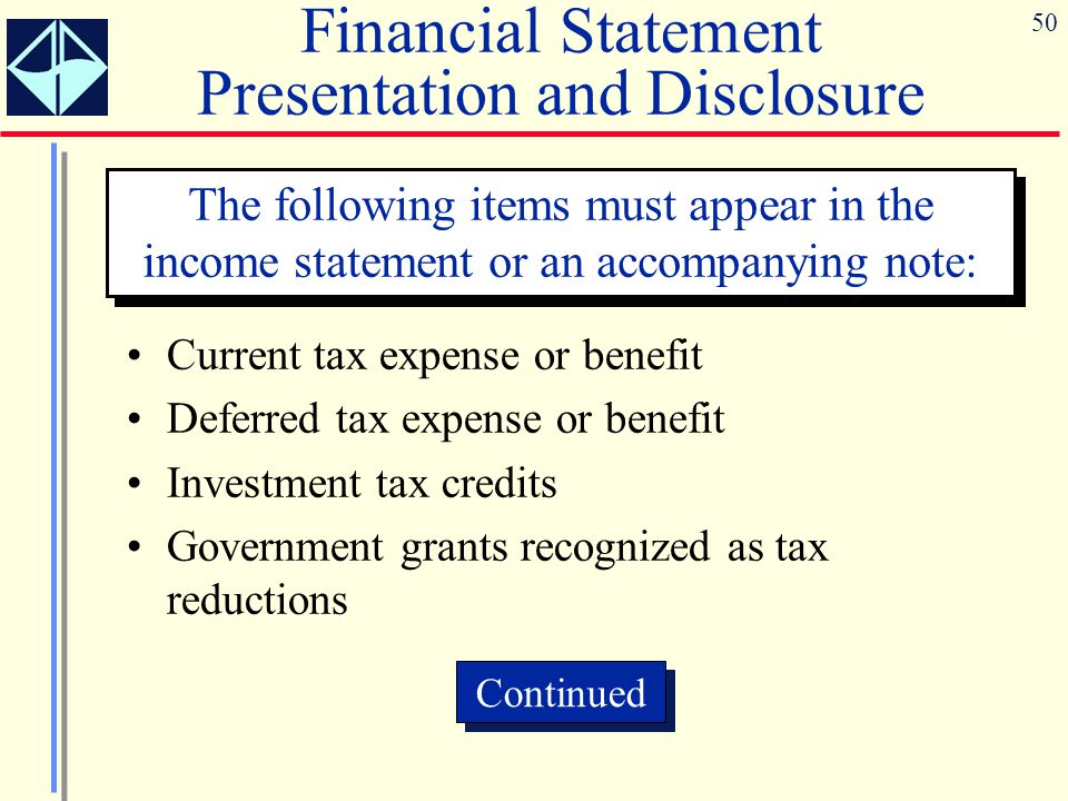 Accounting for income taxes ppt download.