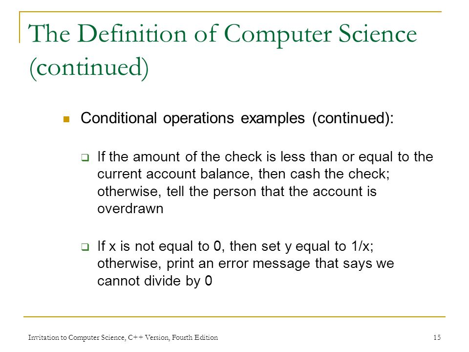 Chapter 1 an introduction to computer science invitation to 15 invitation stopboris Images