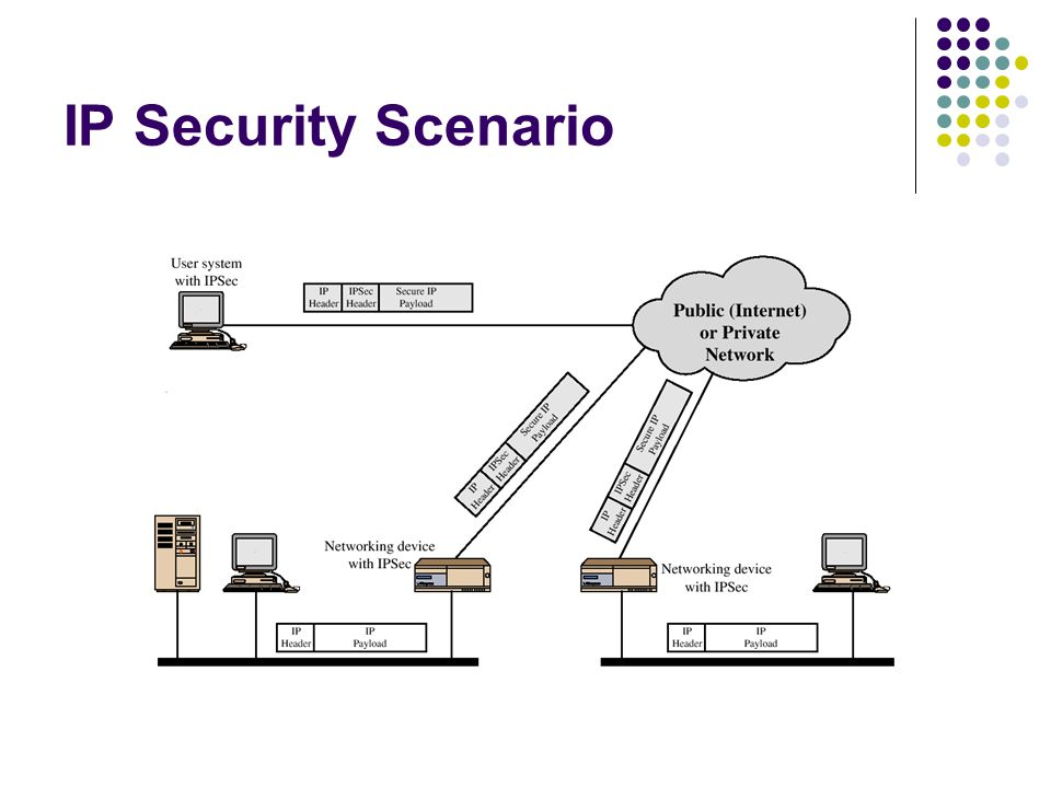 IP Security Scenario