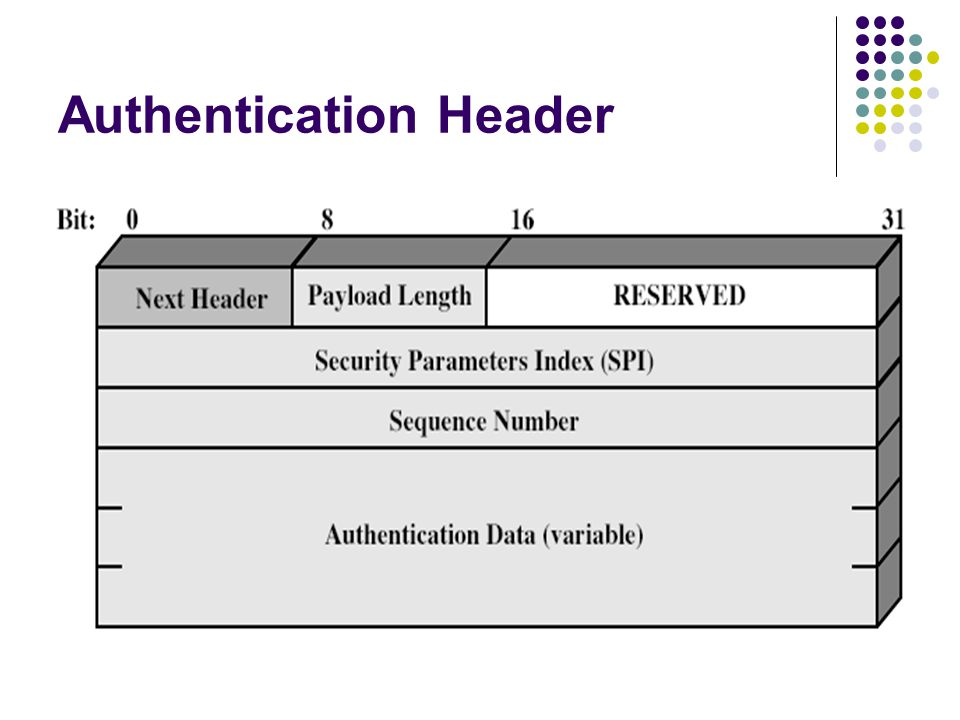 Authentication Header