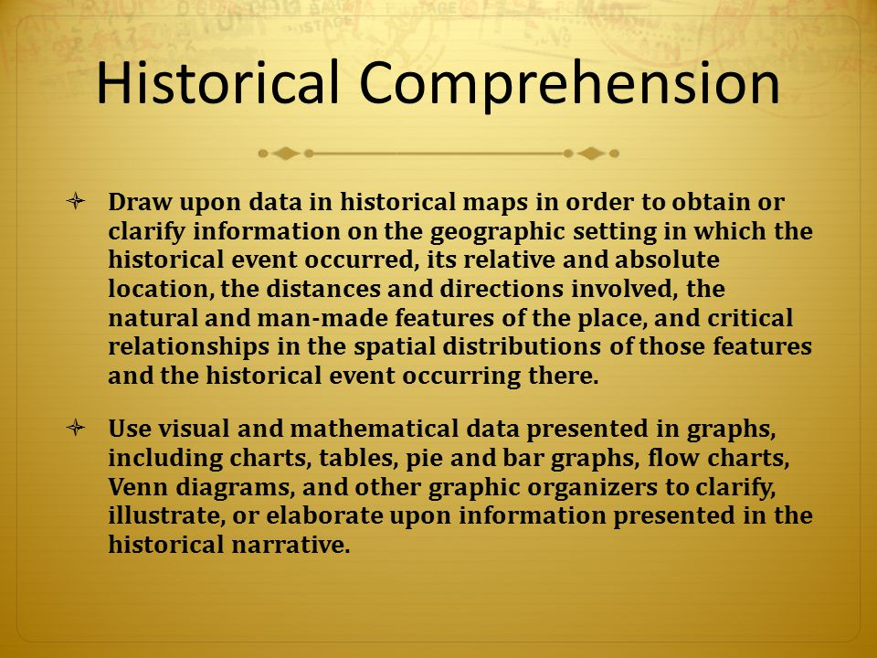 Sea To Shining Sea Historical Comprehension Draw Upon Data In