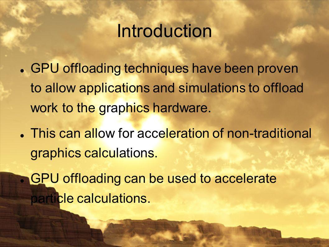 Sandstorm: A Dynamic Multi- contextual GPU-based Particle
