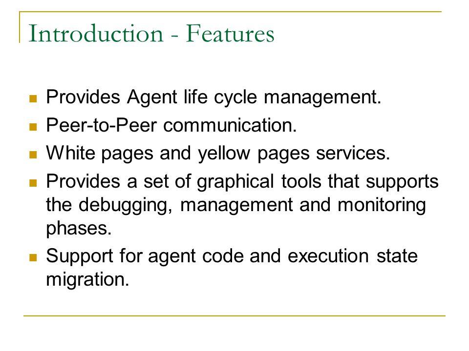 JADE Java Agent Development Framework An Overview  - ppt