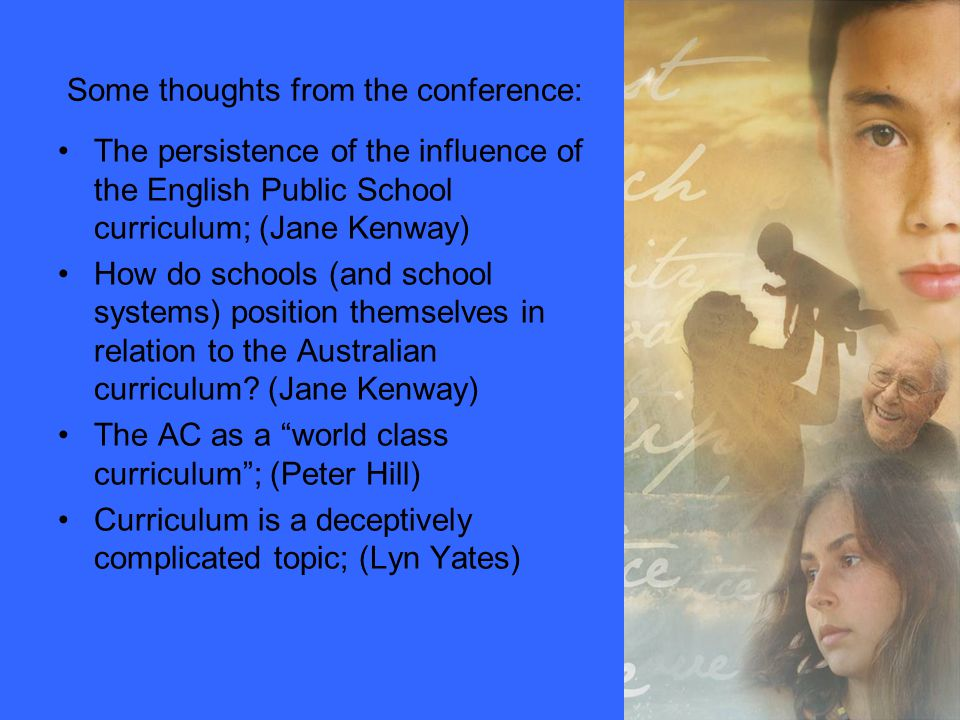 Implementing the Australian curriculum: a case study Dr Mark
