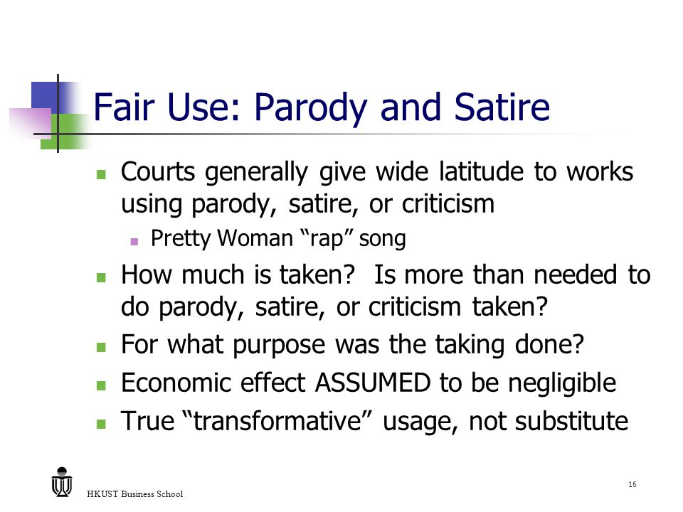 Ismt 520 Lecture 3 Fair Use Exceptions Dmca And Individual