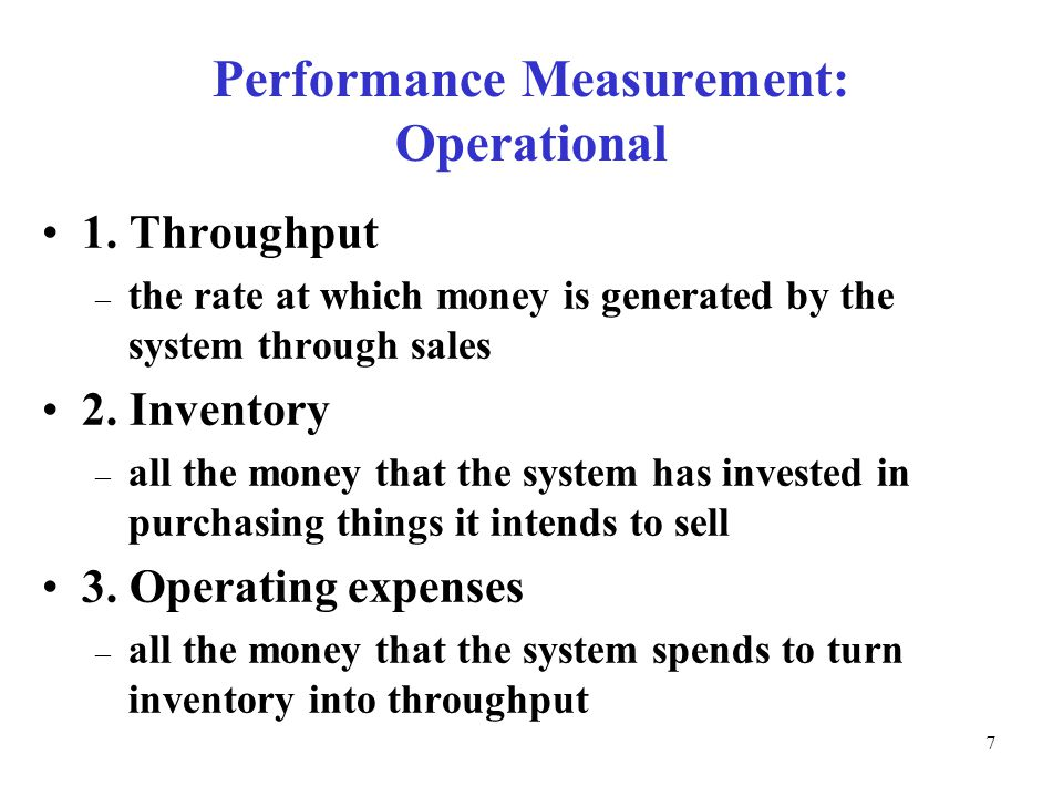 © The McGraw-Hill Companies, Inc., Performance Measurement: Operational 1.