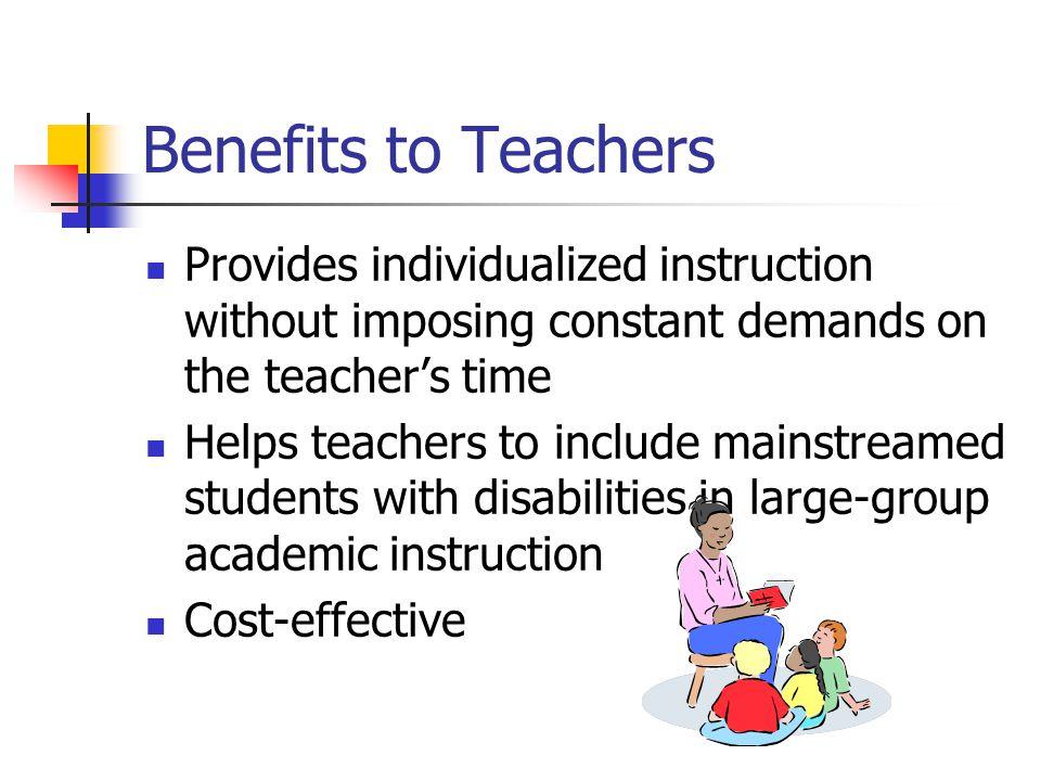 Individualized instruction 2.