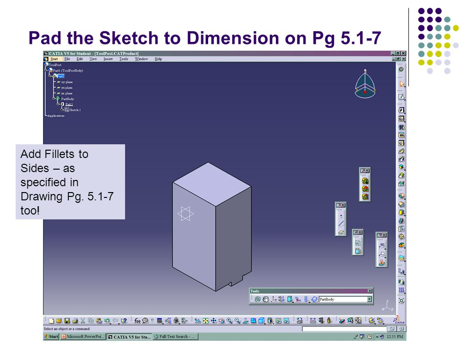 Doing an Assembly – Catia's Answer IE 1225 Introduction to