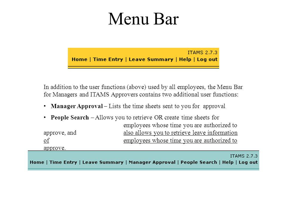 Using ITAMS as a Supervisor or ITAMS Approver Login to ITAMS